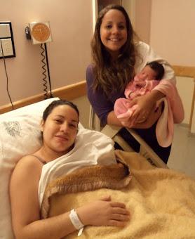 Nasceu Ravena em um parto normal hospitalar!