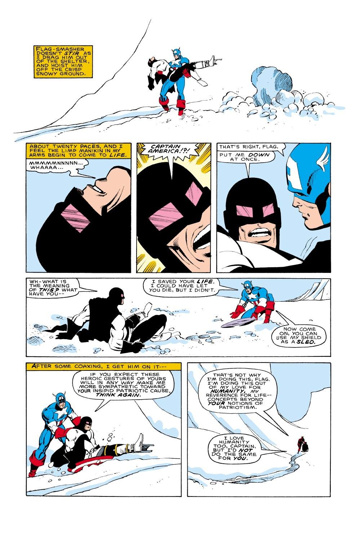 Captain America (1968) Issue #322 #250 - English 17