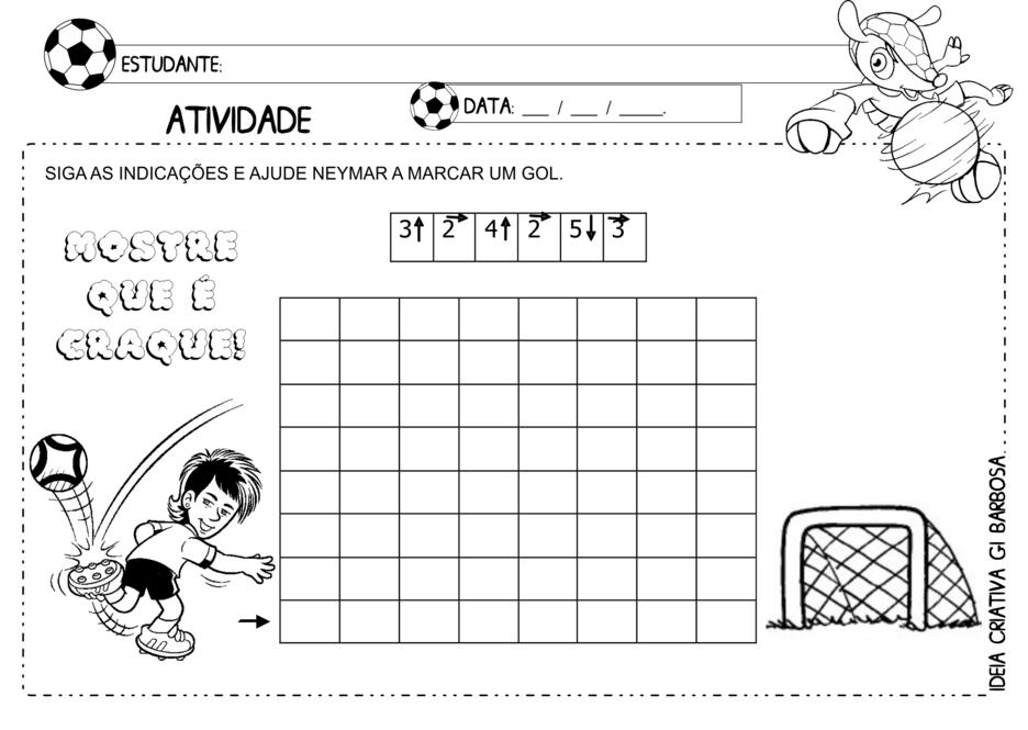 Desafio Matemático Atividade Copa Copa do mundo de 2014
