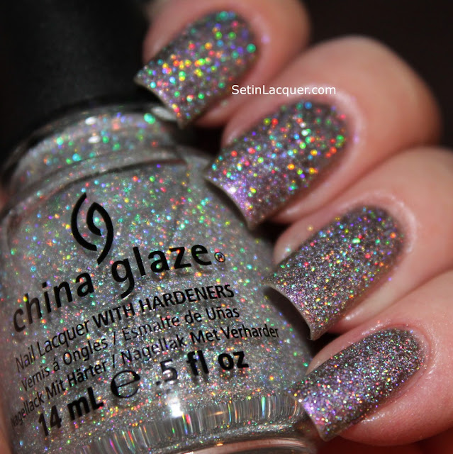 China Glaze Glistening Snow over China Glaze No Plain Jane