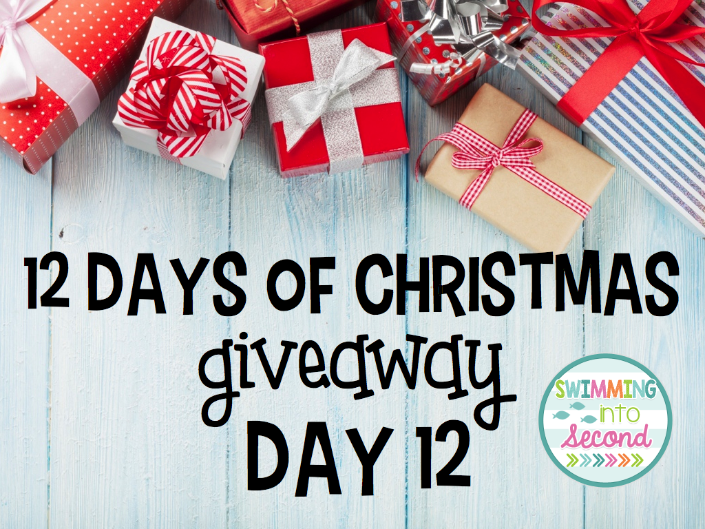todays the last day of my 12 days of giveaways so its the best one yet you can enter to win all and i mean all my christmas resources - What Does The 12 Days Of Christmas Mean