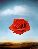 Salvador Dali Meditative Rose
