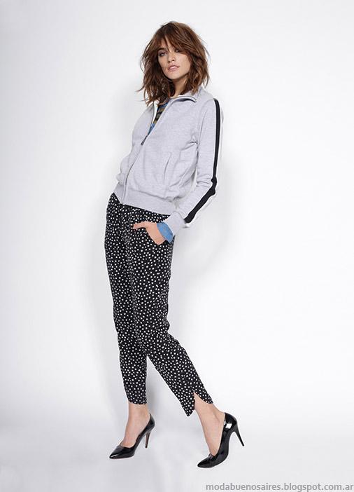 Pantalones de moda invierno 2015 Gloria Jeans.