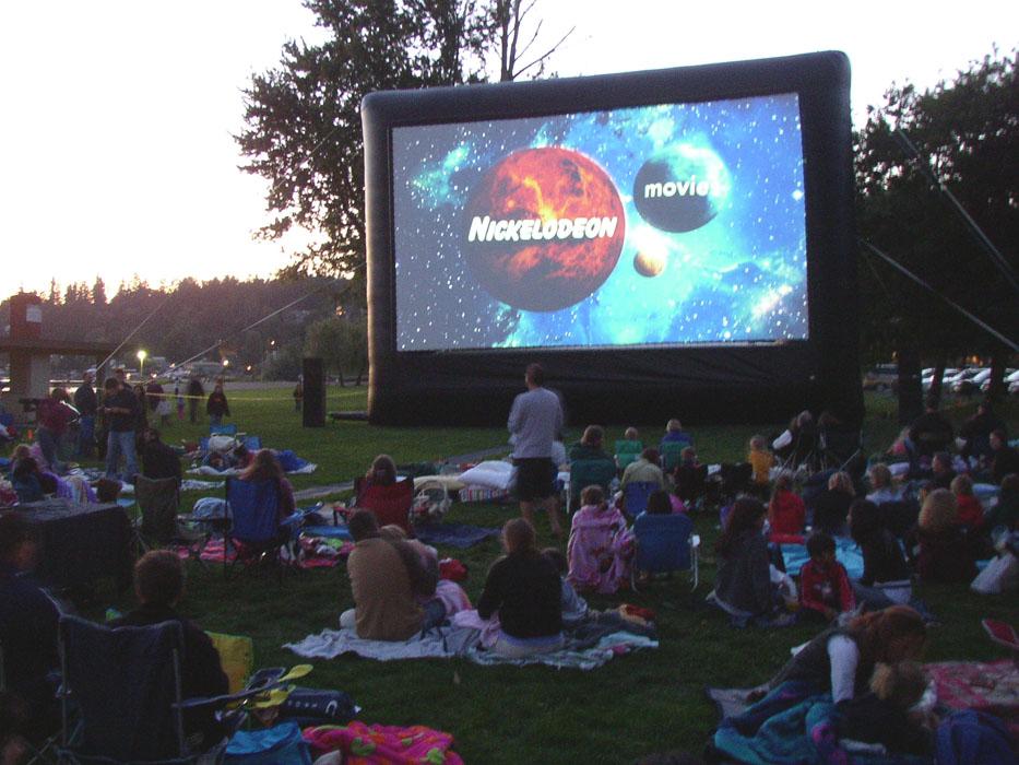 ohio outdoor movies screen rentals
