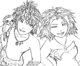 #6 The Croods Coloring Page