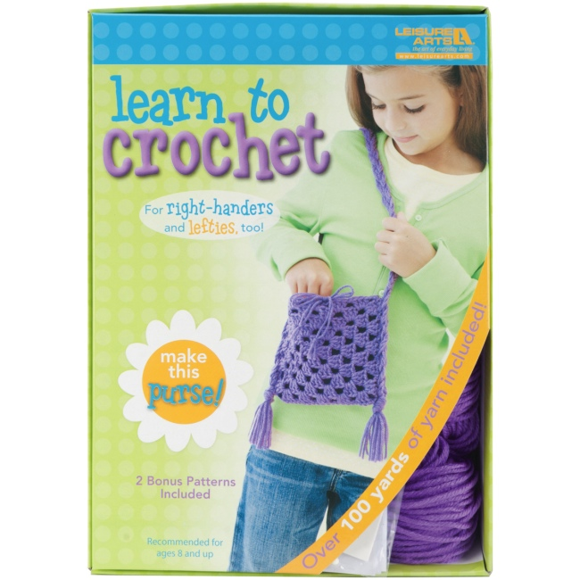 Crocheting Kit : Weekend Kits Blog: Learn to Knit & Crochet Kits for Kids