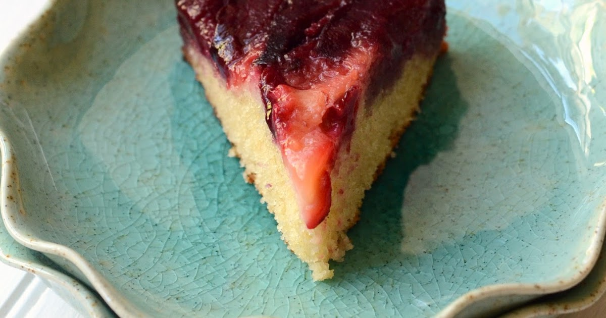 i heart baking!: plum upside down cake