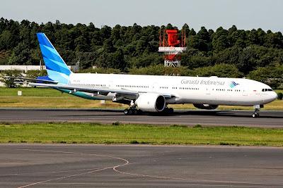 Garuda Indonesia, Boeing 777-300. ZonaAero