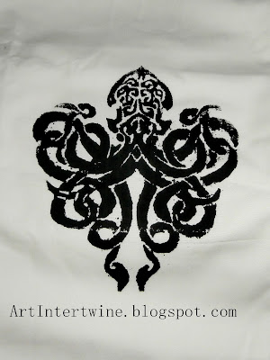 Art Intertwine - Silkscreen Kraken