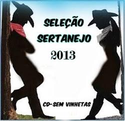 SELEÇÃO SERTANEJO 2013 CD-SEM VINHETAS By DJ HELDER ANGELO