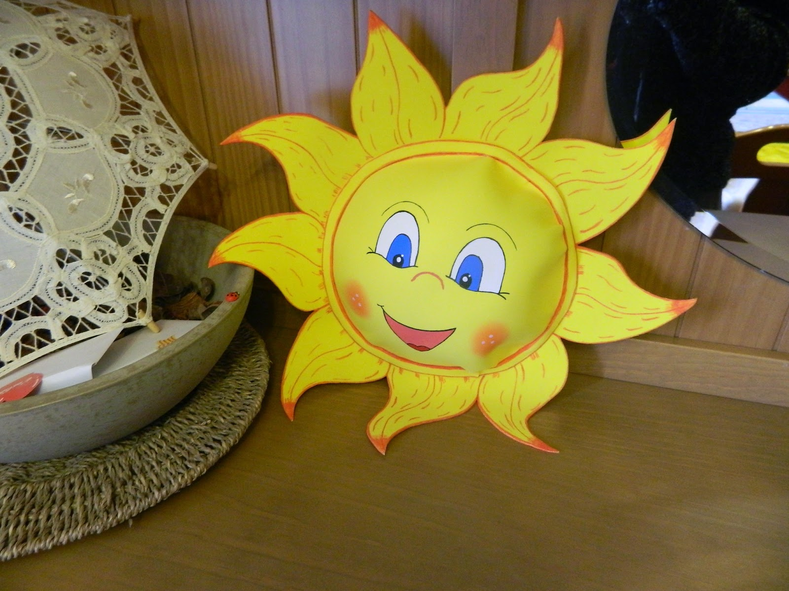 Fofuchilandia Sol Y Luna De Goma Eva