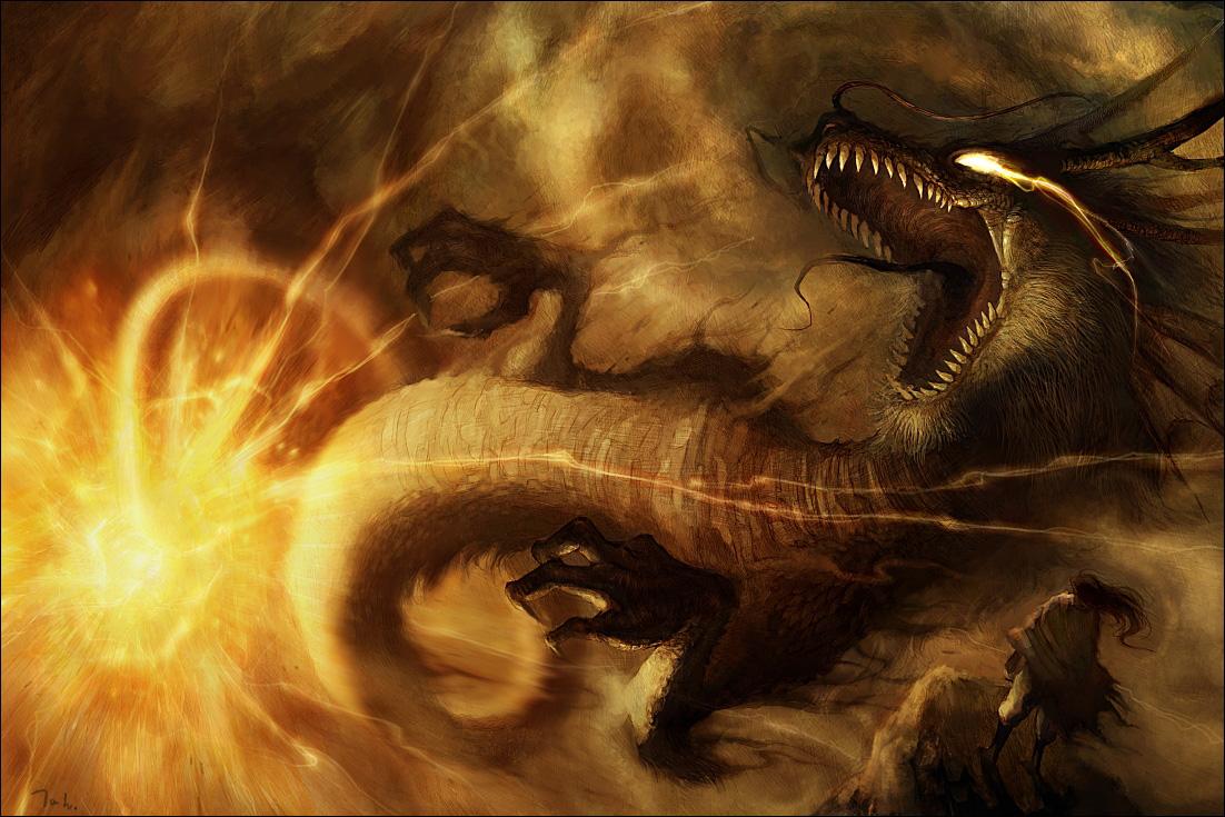 fondo de pantalla dragones