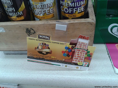 7 Eleven Wonda Coffee promotion RM1