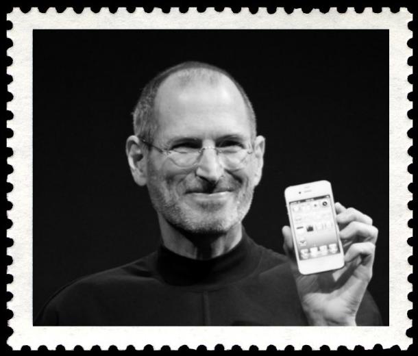 スティーブ・ジョブズの切手。Steve Jobs Postal Stamp