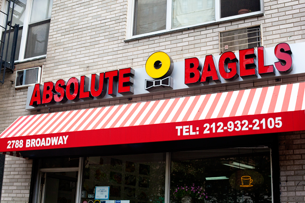 absolute bagels nyc