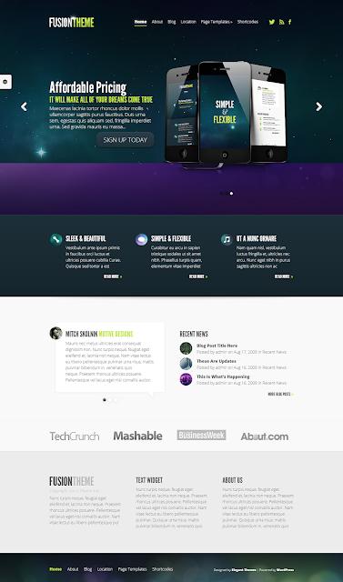Fusion WordPress Theme
