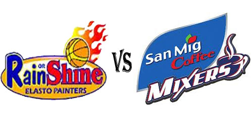 Rain or Shine vs San Mig Coffee Live Stream