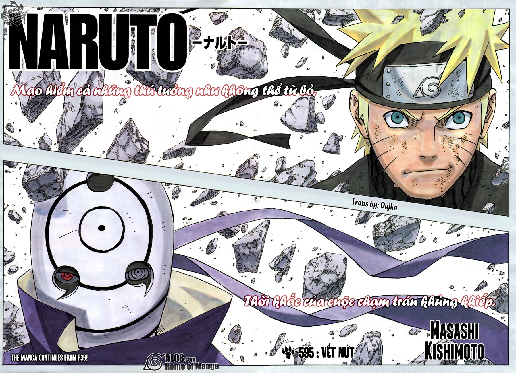 Naruto chap 595 Trang 3 - Mangak.info