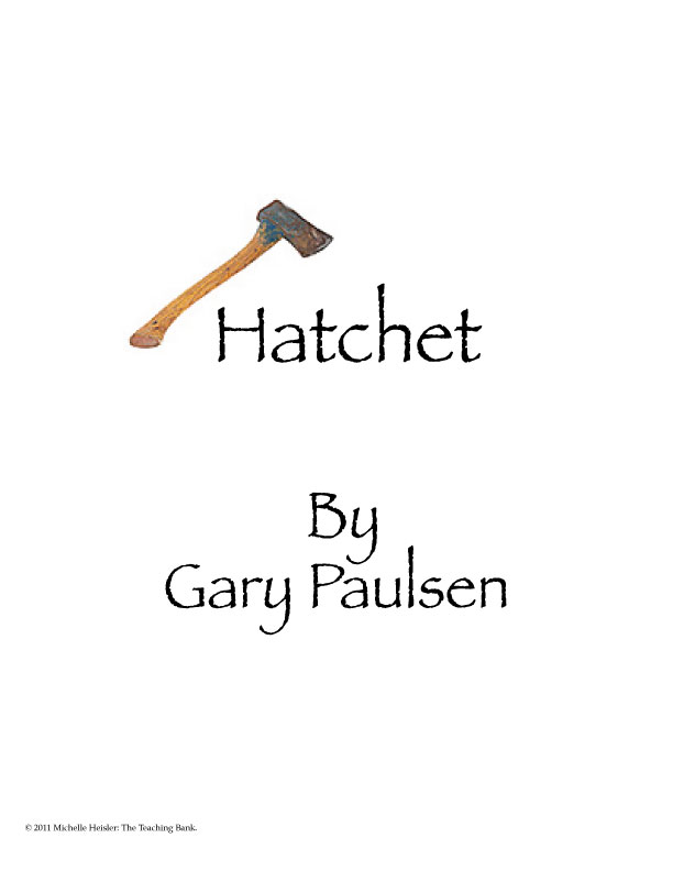 ... hatchet activity worksheets further hatchet gary paulsen worksheets
