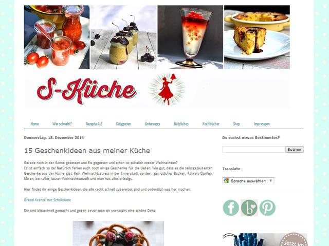 S-Kueche: Geschenkideen aus meiner Küche