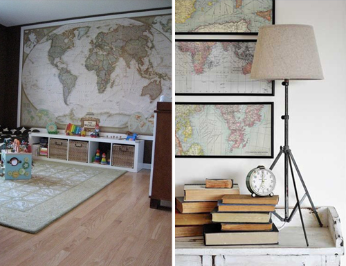 Short Story Long Decorating With Maps