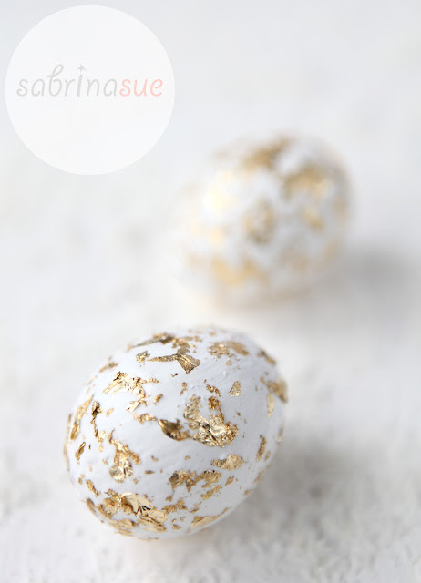 DIY golden eggs