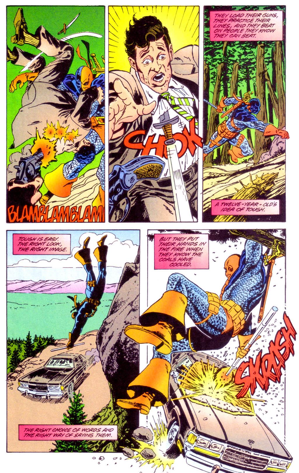 Deathstroke (1991) Issue #40 #45 - English 5