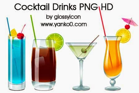 cocktail, drinks, png, hd, bebidas, ilustraciones