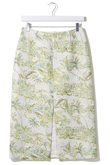 topshop boutique skirt, hawaiien print skirt,
