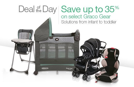 35% Off Select Graco Baby Items: Cribs, Bassinets, Strollers, Car ...