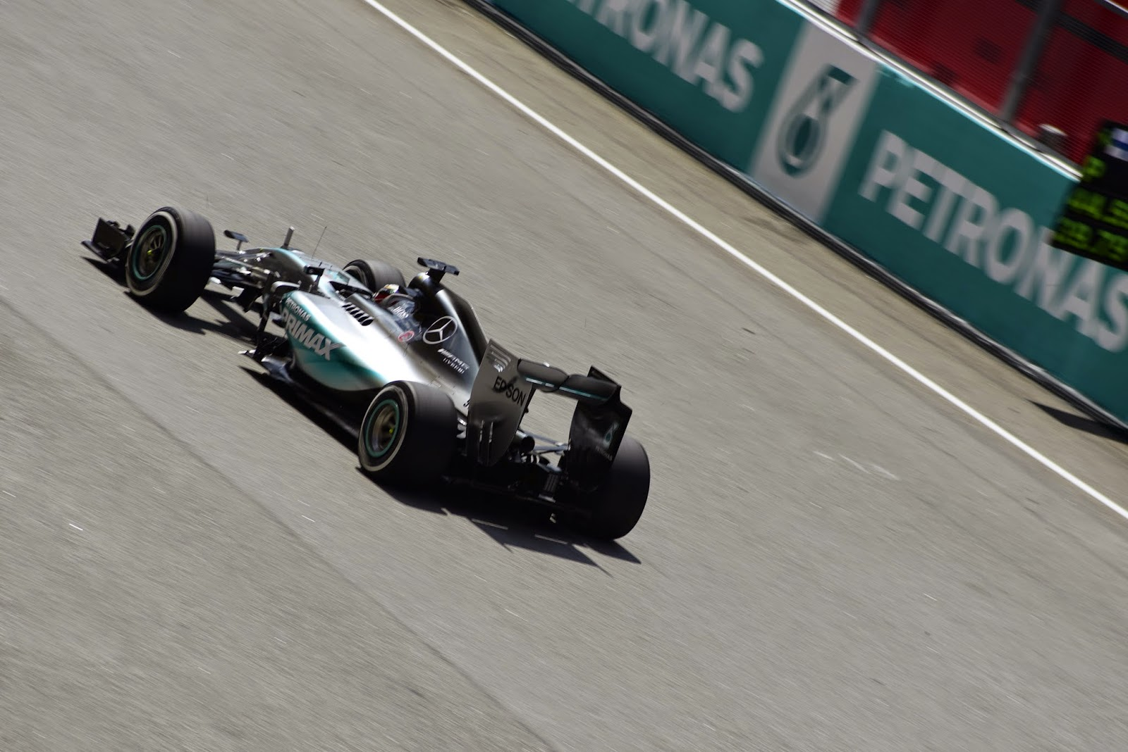 Lewis Hamilton Mercedes F1 Car