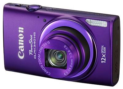 Foto Kamera Canon PowerShot ELPH 340 HS