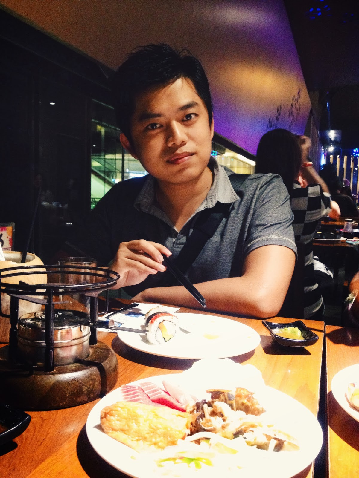 Niklaus Ng NKY @ 上閣屋 Jogoya Buffet Restaurant at Starhill Gallery, Kuala Lumpur, Malaysia