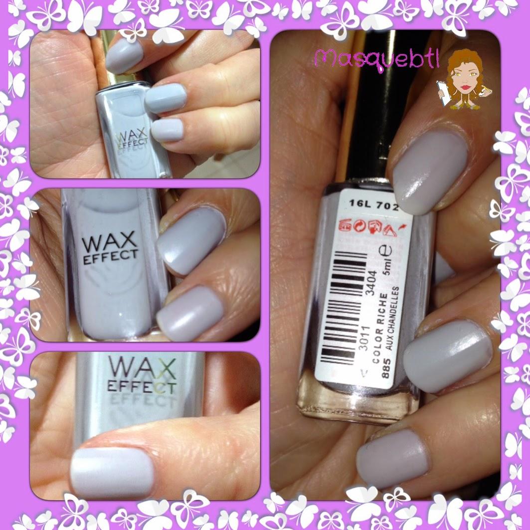 Masquebtl: He probado: Esmaltes de uñas con efectos Le Vernis de L\'Oreal