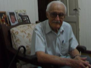 Foto: Aledo Meloni nos recibe en su casa de Resistencia, en abril del 2011