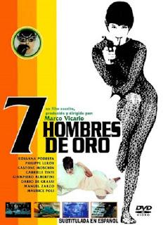 Siete hombres de oro (1965) Accion con Rossana Podestà