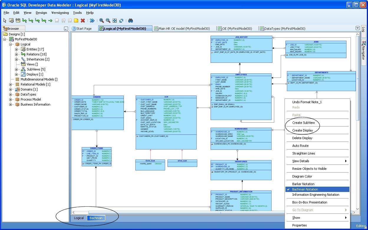 Oracle Tips & Technique: Oracle SQL Developer Data Modeler