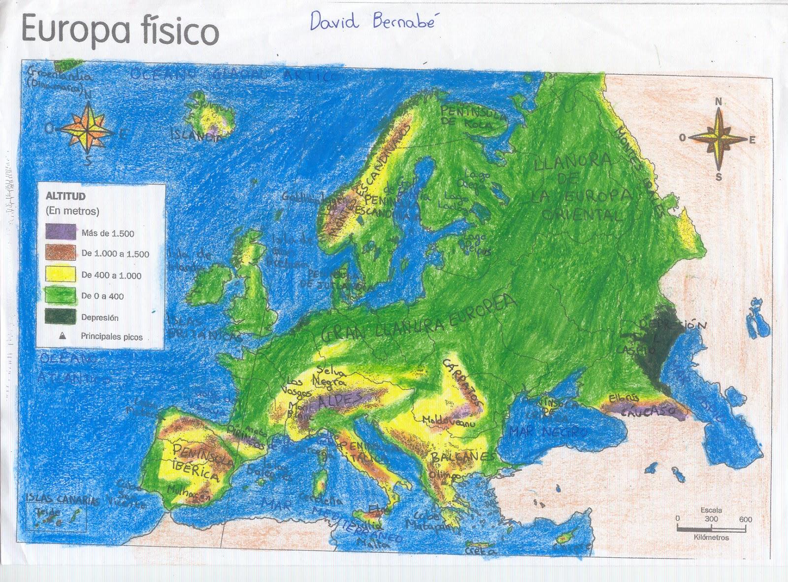Mi profe dice que estudie MAPAS DE EUROPA