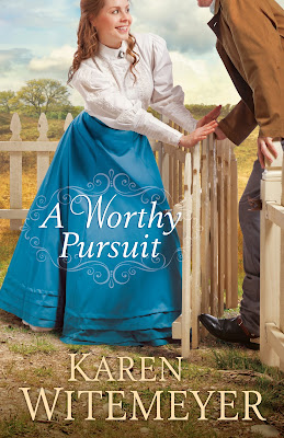 http://www.amazon.com/Worthy-Pursuit-Karen-Witemeyer-ebook/dp/B00QMSCNNG/ref=tmm_kin_swatch_0?_encoding=UTF8&sr=8-1&qid=1433605436