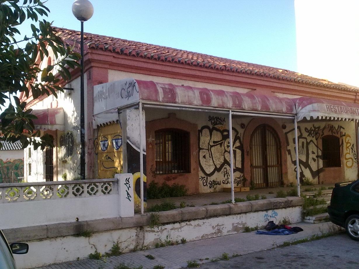Antiga estació del port, completament abandonada hui dia