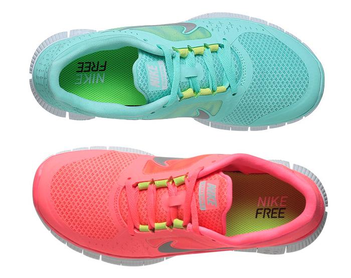 Perfect Nike Free Run 3 Women Neon Pink Coral 2013 Running Shoes Nikefreerun