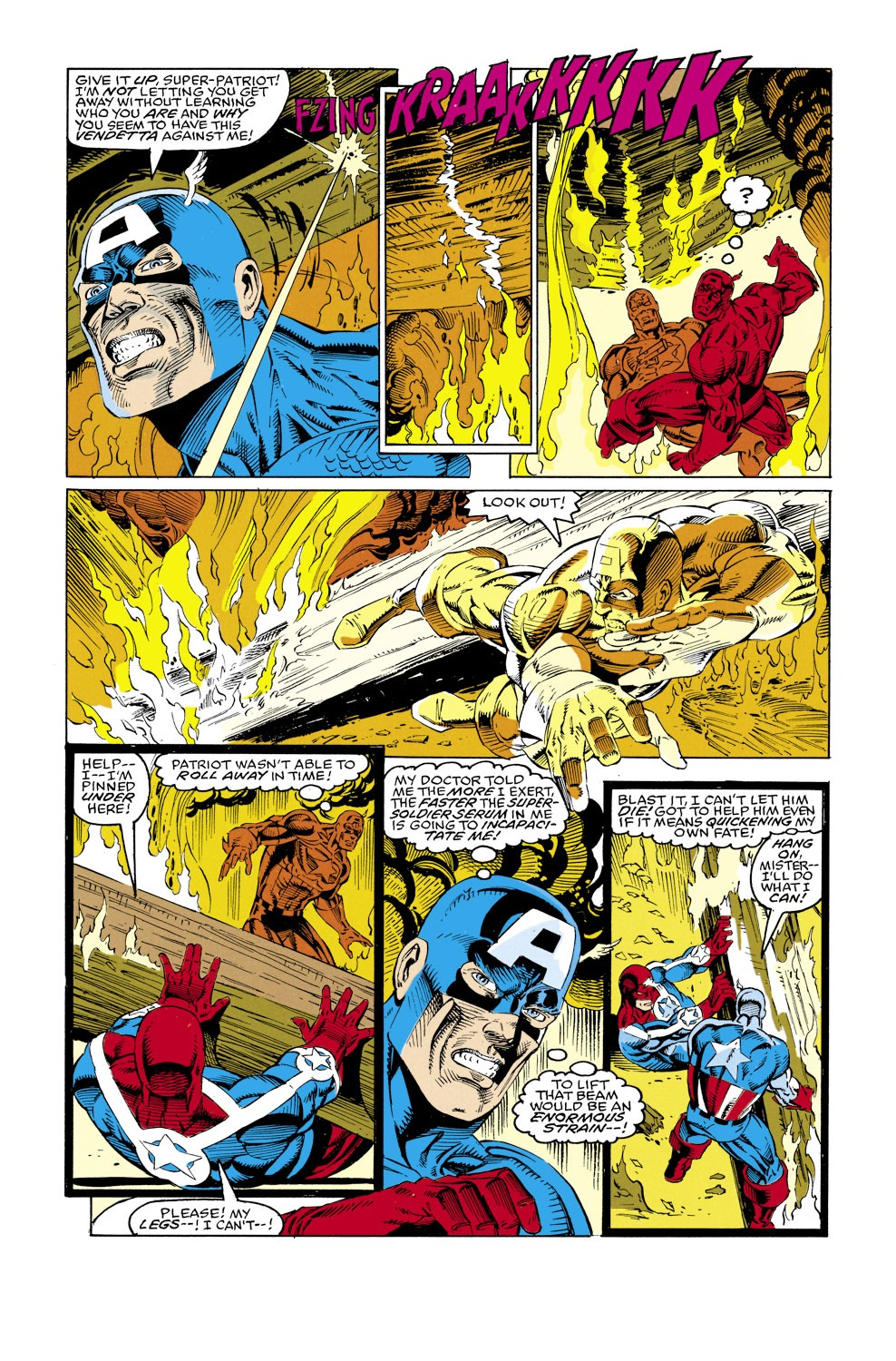 Captain America (1968) Issue #427 #377 - English 22