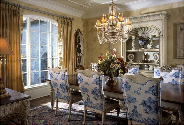 Country dining room design ideas room design ideas for French dining room