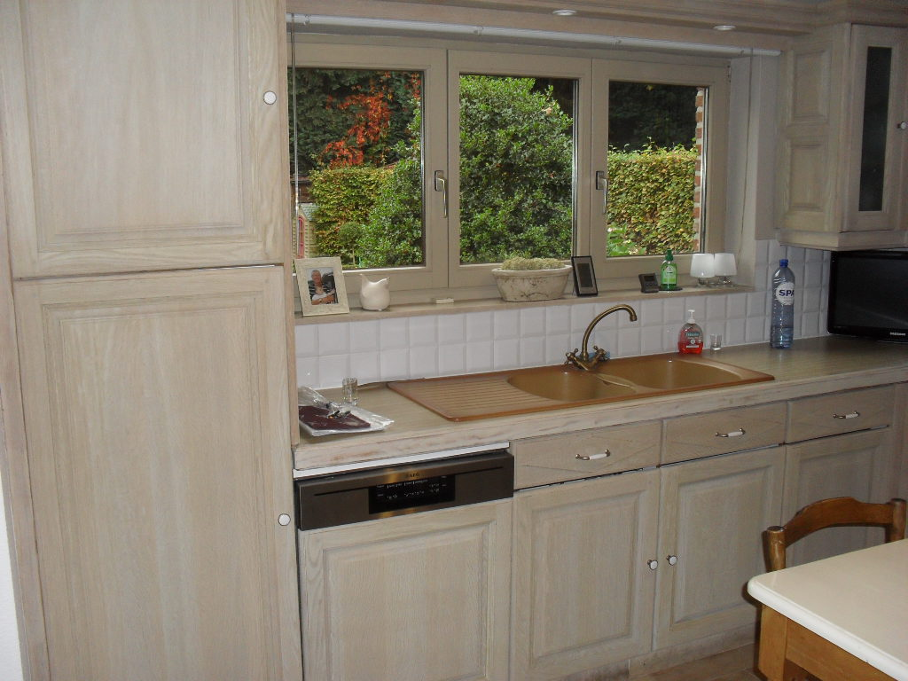 Eiken Keukens Vernieuwen : Renovatie van eiken keuken Meubelrenovatie