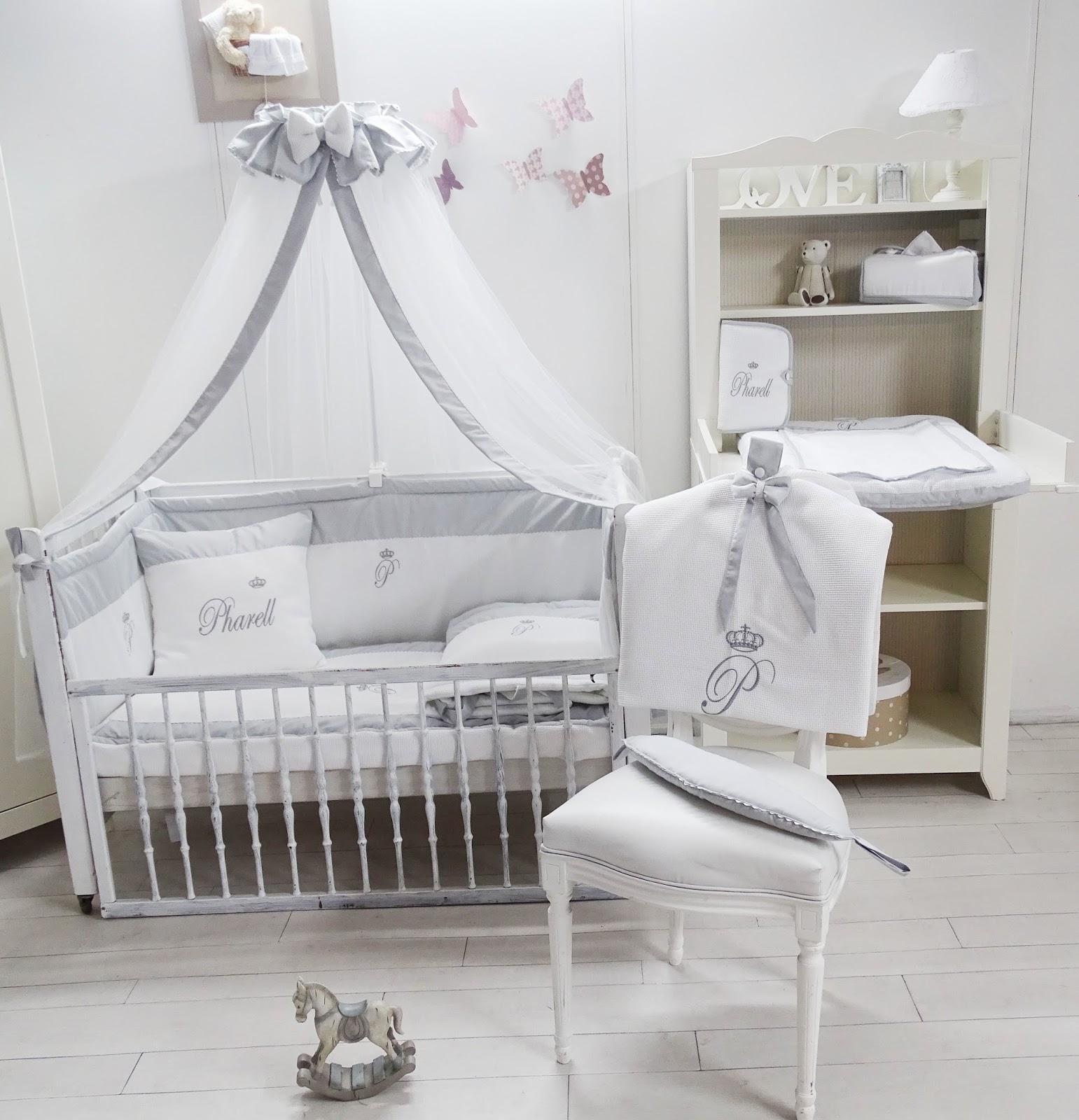tour de lit bébé sur mesure Nouveautés Cocon d'Amour Collection linge de lit de bébé, couffins  tour de lit bébé sur mesure