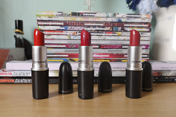 Top 3 Red MAC Lipsticks