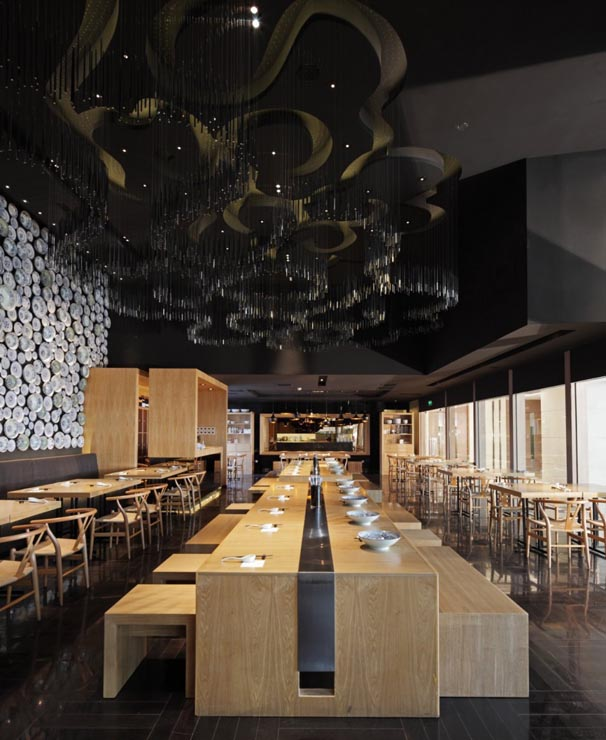 In Design Magz MODERN RESTAURANT INTERIOR MINIMALIST DESIGN WITH WALL