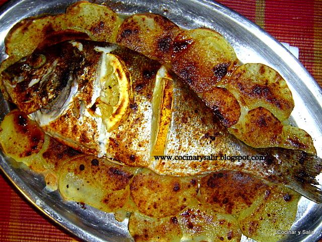 Cocinar y salir dorada al horno for Cocinar gambas al horno