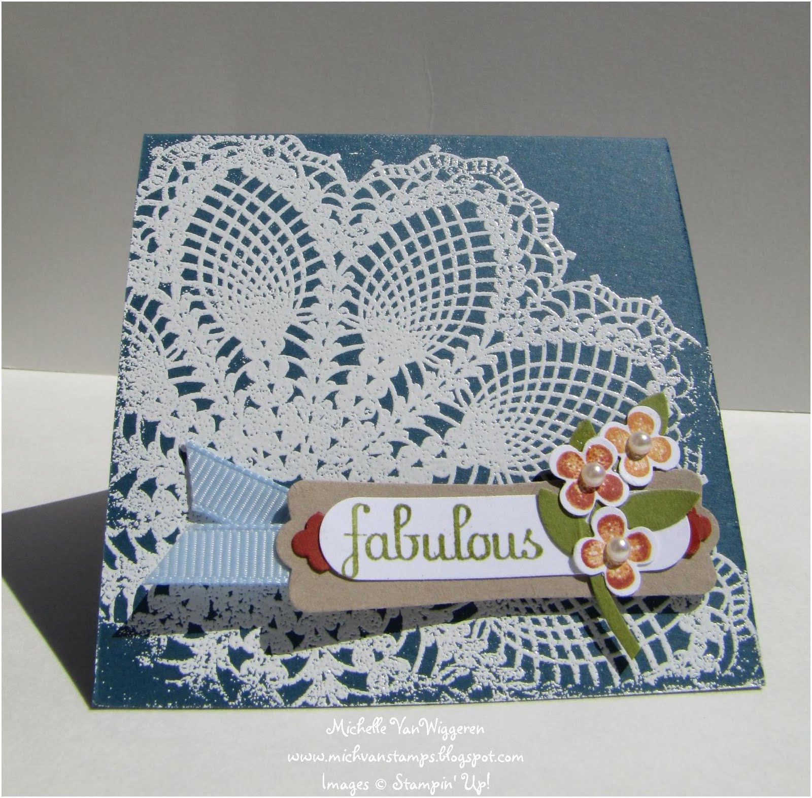 Michelles Great Paper Chase Hello Doily Projects