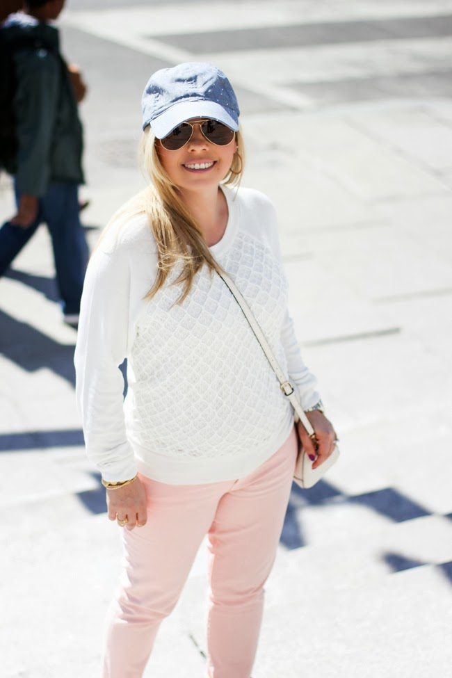 Blush Color Pastel Pants for Spring